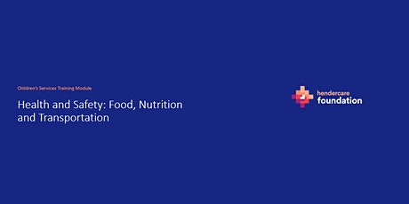 Module 6: Health and Safety: Food and Nutrition and Transportation tickets