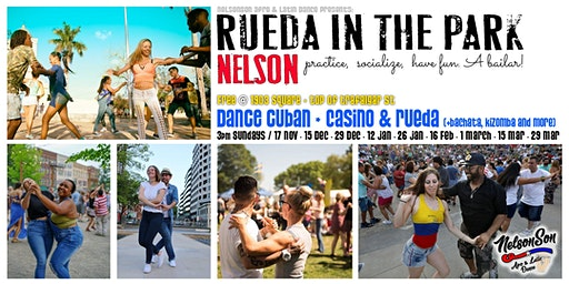 Rueda in the Park - Latin Dance in Nelson (NZ)