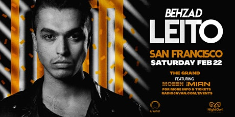 Behzad Leito Live In San Francisco tickets