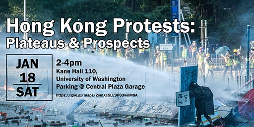 HK Panel Discussion at UW: Hong Kong Protests: Pla