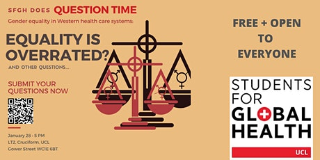 UCL SfGH does Question Time: Gender Equality tickets