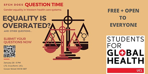 UCL SfGH does Question Time: Gender Equality