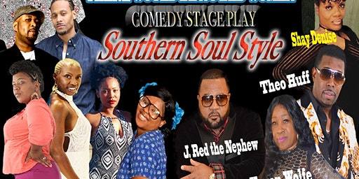 Atlanta 2020 Soul Music Series - Presents Sham Redmond's  Stage Play
