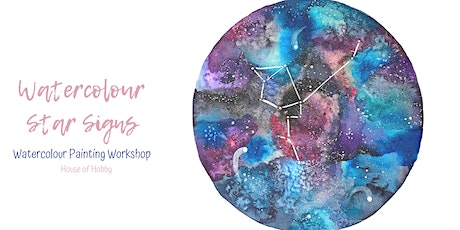 Watercolour Star Signs Workshop tickets