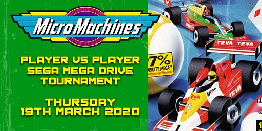 Micro Machines: The Sega Mega Drive Tournament