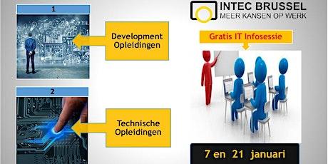 Infosessie INTEC BRUSSEL Bijeenkomst of netwerk tickets