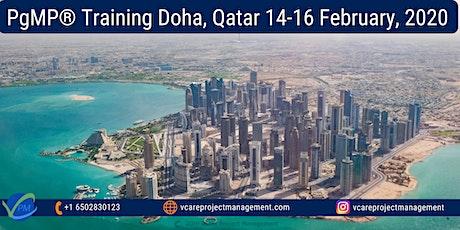 PgMP | Program Management Training | Qatar | February 2020 tickets