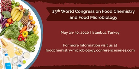 13th International Conference on Food Chemistry and Food Microbiology tickets