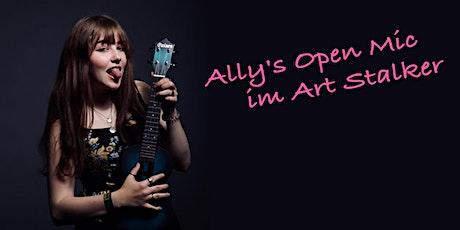 Ally's Open Mic im Art Stalker biglietti