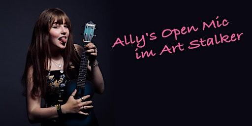 Ally's Open Mic im Art Stalker