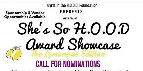 She's So H.O.O.D Youth Excellence Awards tickets