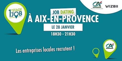 Job Dating Aix-en-Provence : décrochez un emploi dans votre région !
