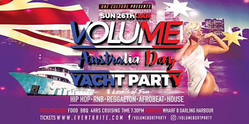 Volume Australia Day Yacht Party Vol19