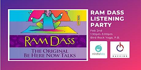Ram Dass Listening Party tickets