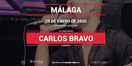 Concierto Carlos Bravo en Pause&Play Vialia Málaga entradas