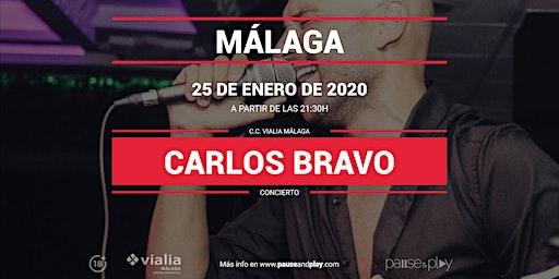 Concierto Carlos Bravo en Pause&Play Vialia Málaga