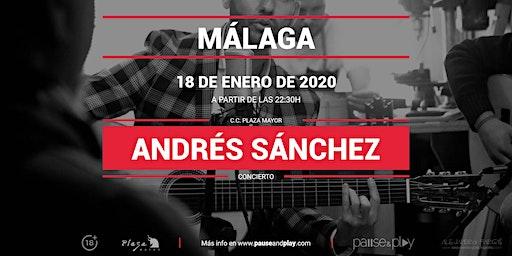 Concierto Andrés Sánchez en Pause&Play Plaza Mayor