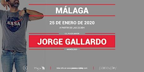 Monólogo Jorge Gallardo en Pause&Play Plaza Mayor entradas