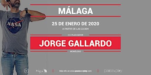Monólogo Jorge Gallardo en Pause&Play Plaza Mayor