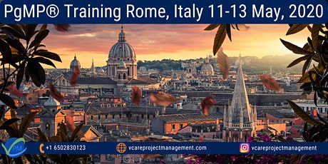 PgMP | Program Management Training | Rome | Italy | May 2020 tickets