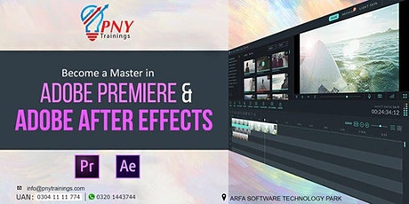 Become a Master in Adobe Premiere and After Effects tickets