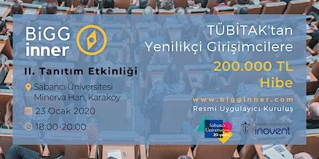 BiGGinner TÜBİTAK Genç Girişimci Hibe Programı - Tanıtım, Karaköy tickets
