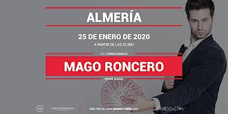 Show Magia Mago Roncero en Pause&Play Torrecárdenas entradas