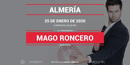 Show Magia Mago Roncero en Pause&Play Torrecárdenas