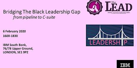 Bridging The Black Leadership Gap tickets