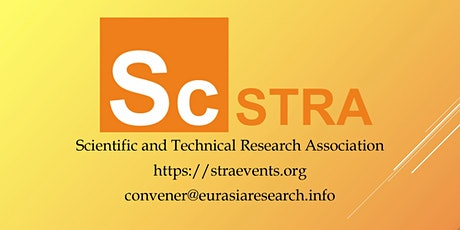 Online 3rd ICSTR Barcelona – International Conference on Science & Technology Research, 03-04 September 2020 entradas