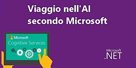 Viaggio nell'A.I. secondo Microsoft biglietti