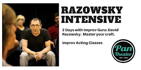 David Razowsky Improv Intensive at Pan Theater - Oakland tickets
