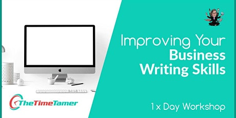Improving Your Business Writing Skills tickets
