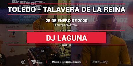 Sesión Dj Laguna en Pause&Play Los Alfares entradas