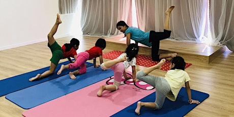 Super Yoga Kids Saturday class (4-12 Years Old) tickets
