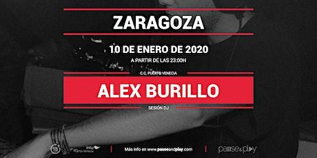 Sesión DJ Alex Burillo en Pause&Play Puerto Venecia entradas