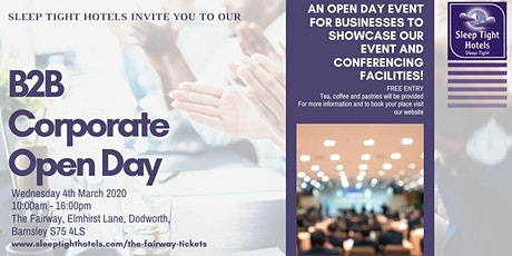 B2B Corporate Open Day tickets