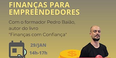 Sessão Finanças para Empreendedores bilhetes