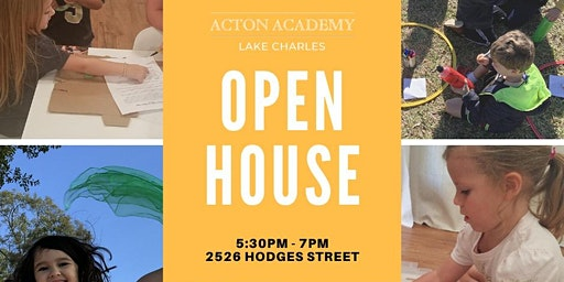 Open House 5:30pm-7pm