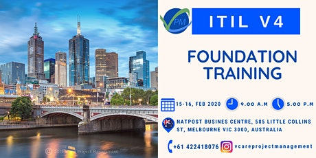 ITIL V4 |Training | Course | Melbourne | February | 2020 tickets