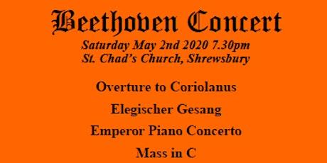 Beethoven Concert tickets