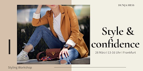 Style & Confidence Tickets