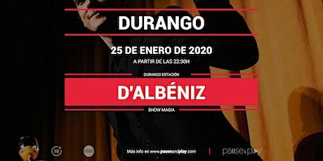 Show Magia D'Albéniz en Pause&Play Durango entradas