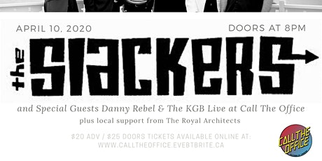 The Slackers & Guests - London tickets