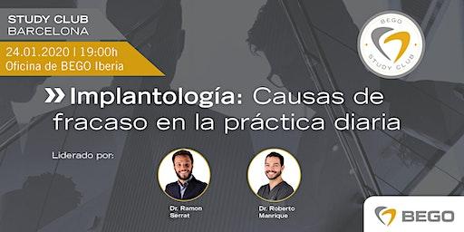 BEGO Study Club | Implantología: causas de fracaso en la práctica diaria.