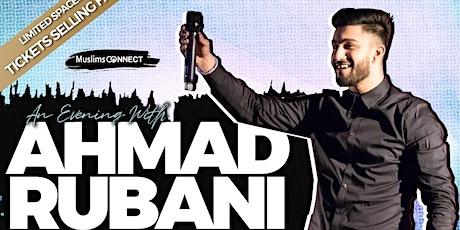 An Evening with Ahmad Rubani tickets