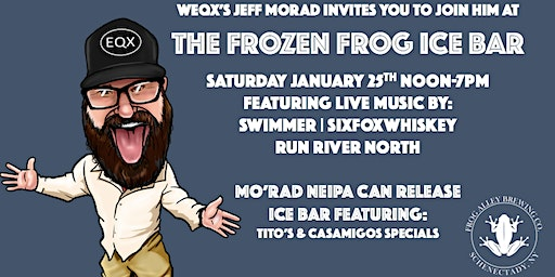The Frozen Frog: ICE BAR AT FROG ALLEY