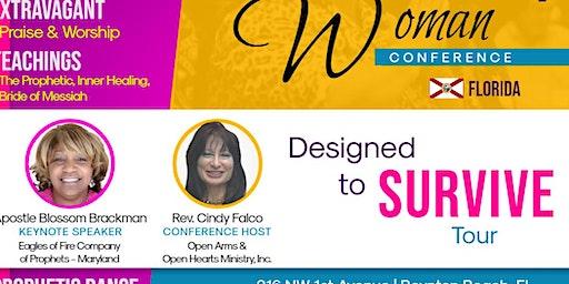 I'M EVERY WOMAN: Designed to Survive Tour - Boynton Beach Florida