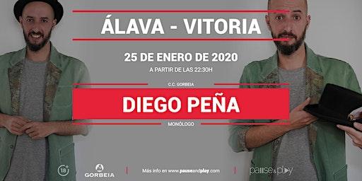 Monólogo Diego Peña en Pause&Play Gorbeia