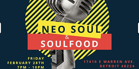 NEO SOUL & SOULFOOD tickets